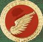 Auflage rechter Flügel rot