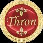 Auflage Thron rot