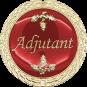 Auflage Adjutant rot