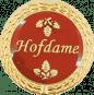 Auflage Hofdame rot
