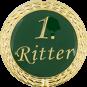 Auflage mit 1. Ritterschriftzug grün
