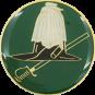 Auflage Mütze grün