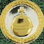 Auflage Reichsapfel silber/gold