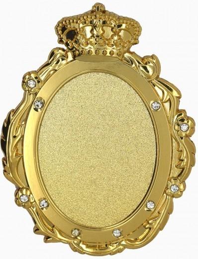 Königsorden 3D-Relief geprägt gold