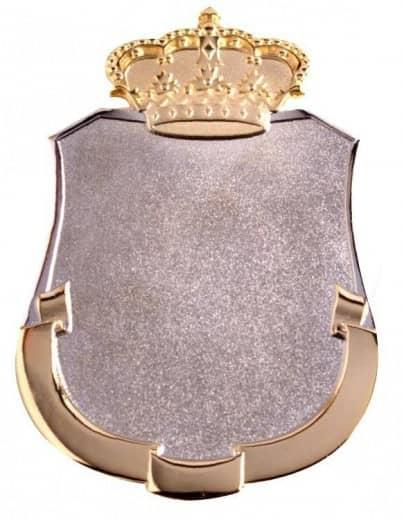 Königsschild 1 silber/gold