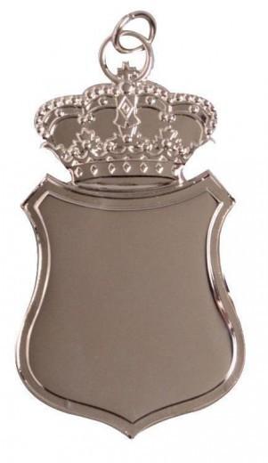 Königsschild 3 mit Krone