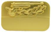 Meisterschaftabzeichen Luftpistole gold