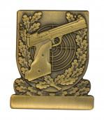 Meisterschaftabzeichen Sportpistole bronze