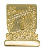 Meisterschaftabzeichen Sportpistole gold