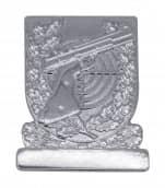 Meisterschaftabzeichen Sportpistole silber
