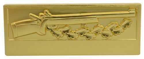 Meisterschaftabzeichen Kleinkaliber gold
