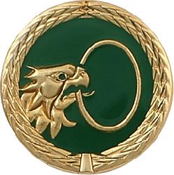 Anstecknadel Pfänder-Kopf-Ring