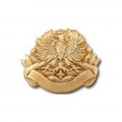 Schützenabzeichen 2 altgold