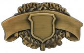 Schützenabzeichen 5 altgold