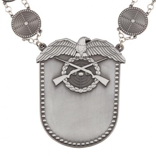 Königskette - Schützenkette altsilber