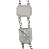 Schützenkette - Königskette versilbert