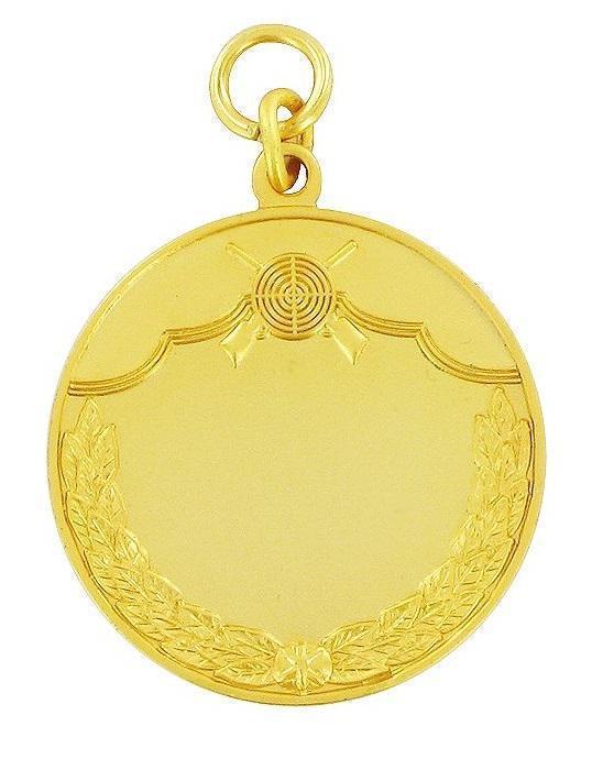 Schützenmedaille 3 gold