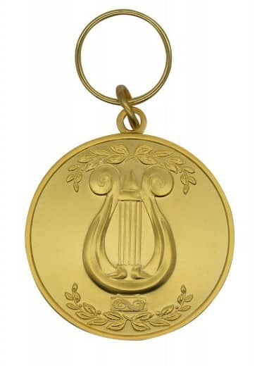 "Medaille""Lyra"" gold"
