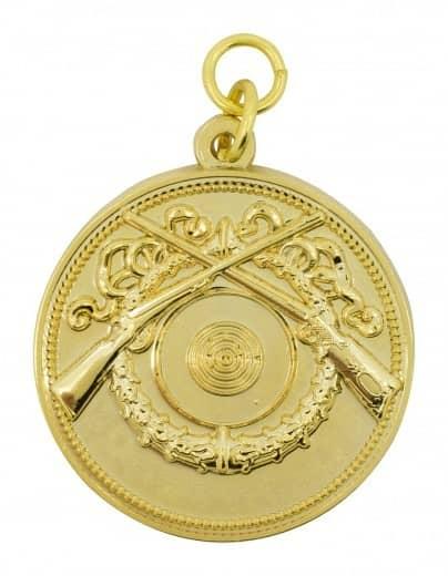 Schützenmedaille 10 gold