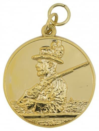 Schützenmedaille 13 gold