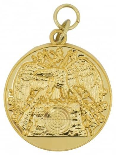 Schützenmedaille 15 gold