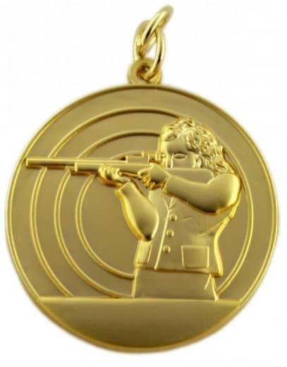 Schützenmedaille 8 gold