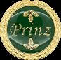 Auflage mit Prinzschriftzug grün