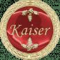 Auflage Kaiser rot