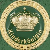Auflage Kinderkönigin grün
