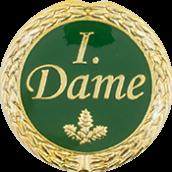 Auflage 1. Dame grün