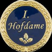 Auflage 1. Hofdame blau