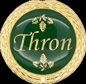 Auflage Thron grün