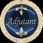 Auflage Adjutant blau