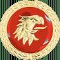 Auflage Adlerkopf rot