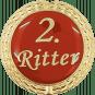 Auflage mit 2. Ritterschriftzug rot