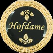 Auflage Hofdame schwarz
