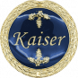 Auflage Kaiser blau