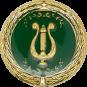 Auflage mit Lyra grün