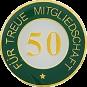Auflage treue Mitgliedschaft 50
