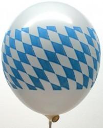 50 Stück Luftballons Bayernraute