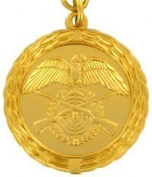 Medaille - gold