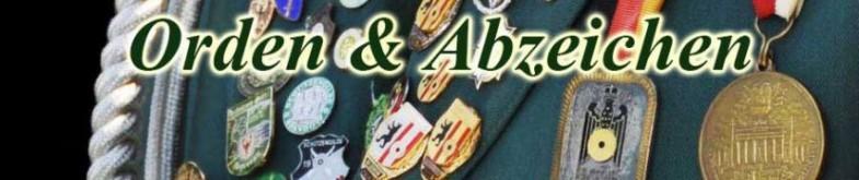 Orden & Abzeichen