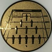 Emblem 50mm Kickertisch, gold