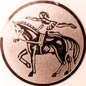 Emblem 50mm Voltigieren, bronze