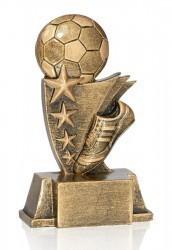 Fußball mit Schuh & 4 Sternen FS16904