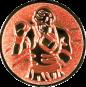 Emblem 25mm Boxer 3D, bronze