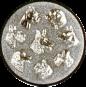 Emblem 25mm Hunderassen 3D, silber