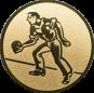 Emblem 25mm Kegler M1, gold