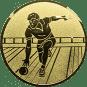Emblem 25mm Kegler M2, gold