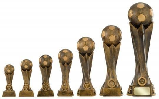 Fußballpokal 7er Serie C154 15cm